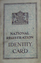 WW2 National Registration ID Card